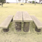 疎林公園のベンチAタイプ